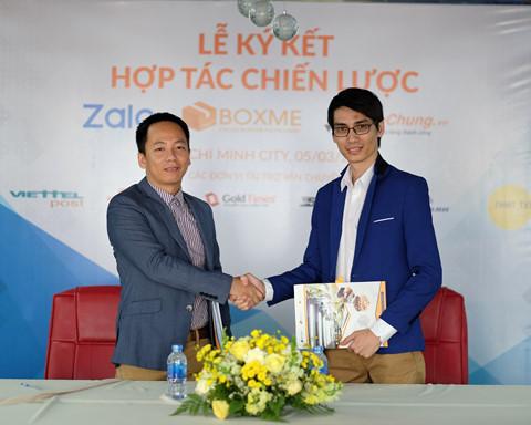 Zalo Shop chinh thuc tich hop Shipchung va BoxMe hinh anh
