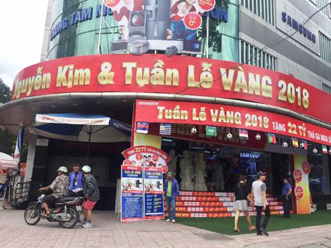 Nguyen Kim tang khach hang 22 ty mua sam trong tuan le vang hinh anh