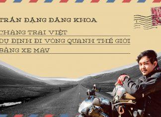 Chang trai Viet du dinh di vong quanh the gioi bang xe may hinh anh 1