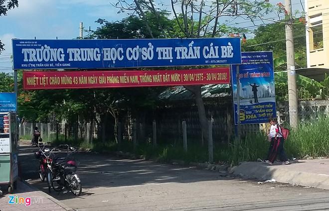 Khong co chuyen hoc sinh Tien Giang tham gia