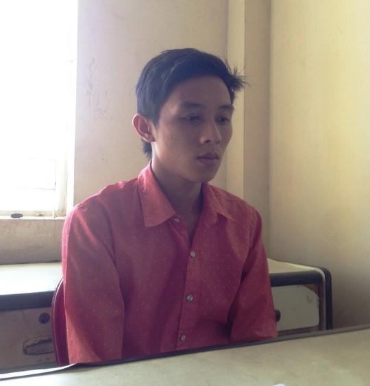 Nghi can Phan Văn Hiền tại cơ quan điều tra.