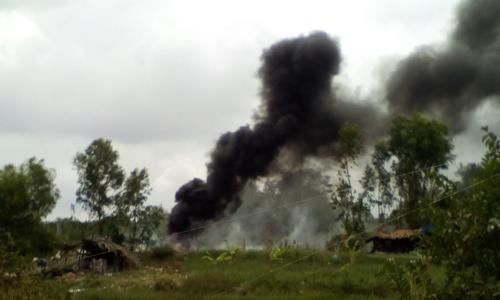 Người dân cho rằng khói, bụi từ việc đốt rác ảnh hưởng đến đời sống, sinh hoạt của họ.