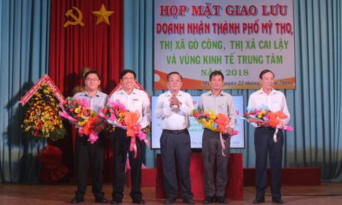 UBND tỉnh Tiền Giang luôn quan tâm, tháo gỡ khó khăn cho doanh nghiệp