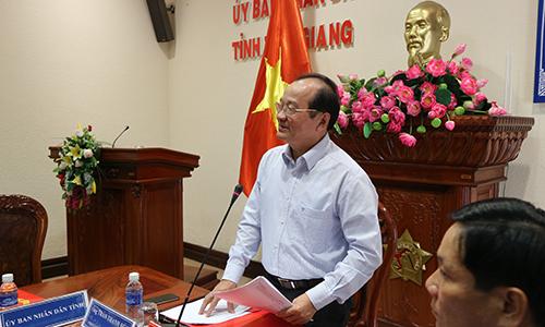 Phó Chủ tịch UBND tỉnh phát biểu chỉ đạo hội nghị