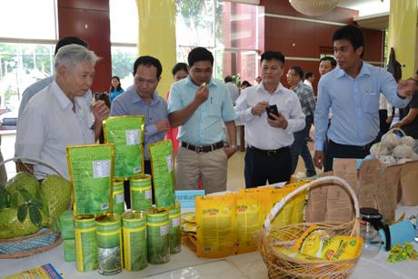 Sản phẩm nông nghiệp chế biến mới mong mang lại giá trị gia tăng cao.