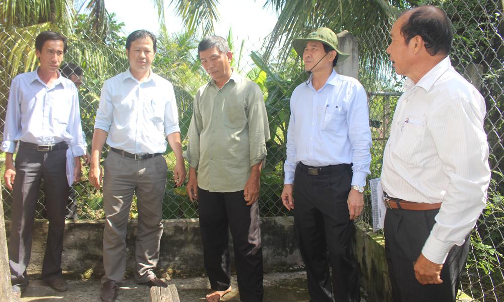 Chủ tịch UBND tỉnh Lê Văn Hưởng THT Mỹ Phú.