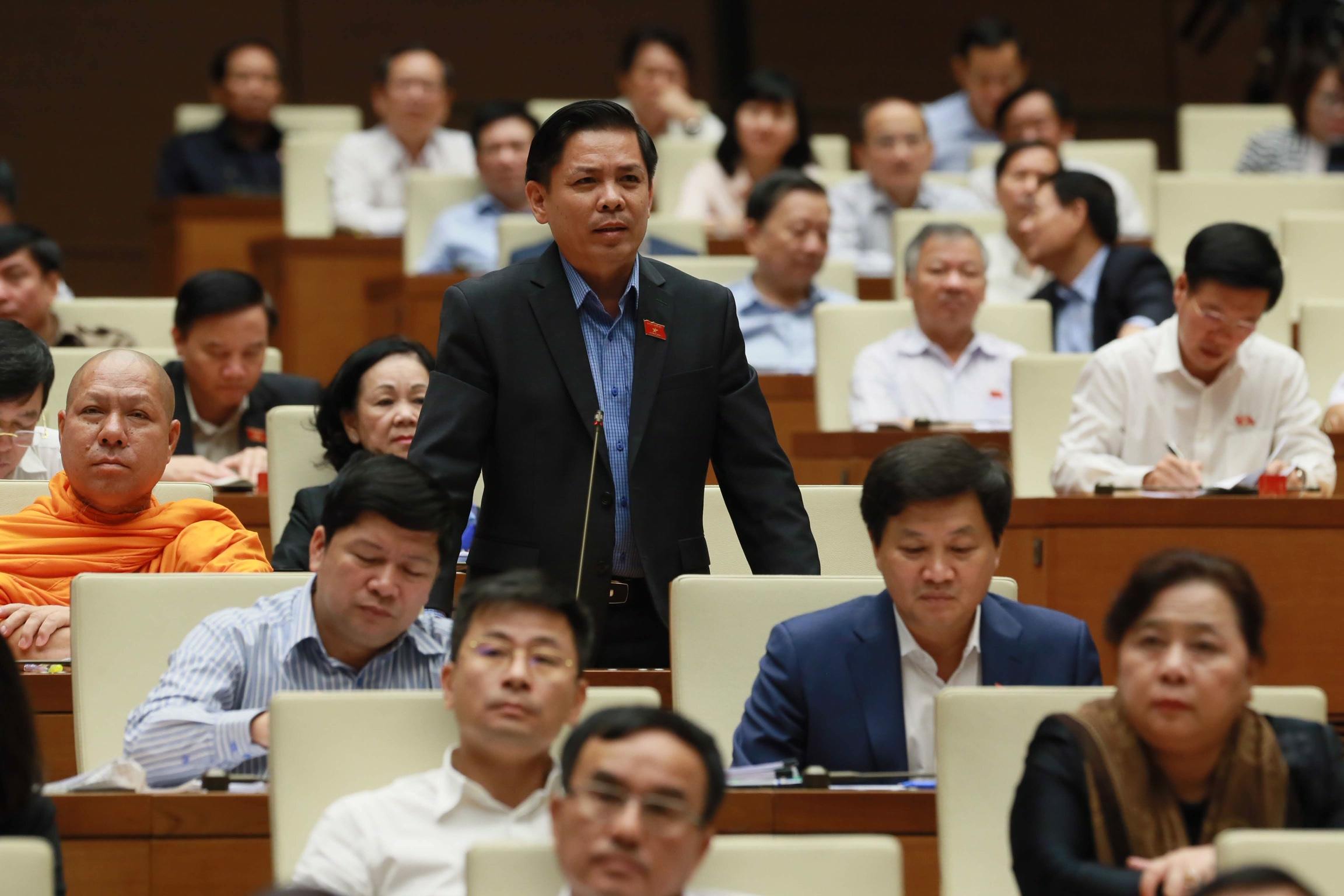 Bộ trưởng Bộ Giao thông Vận tải Nguyễn Văn Thể. Ảnh: VGP/Nhật Bắc