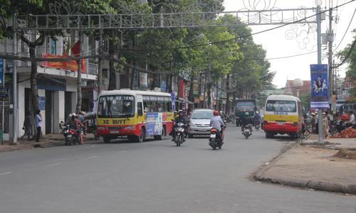 Tỉnh đang quyết tâm nâng cao chất lượng xe buýt.