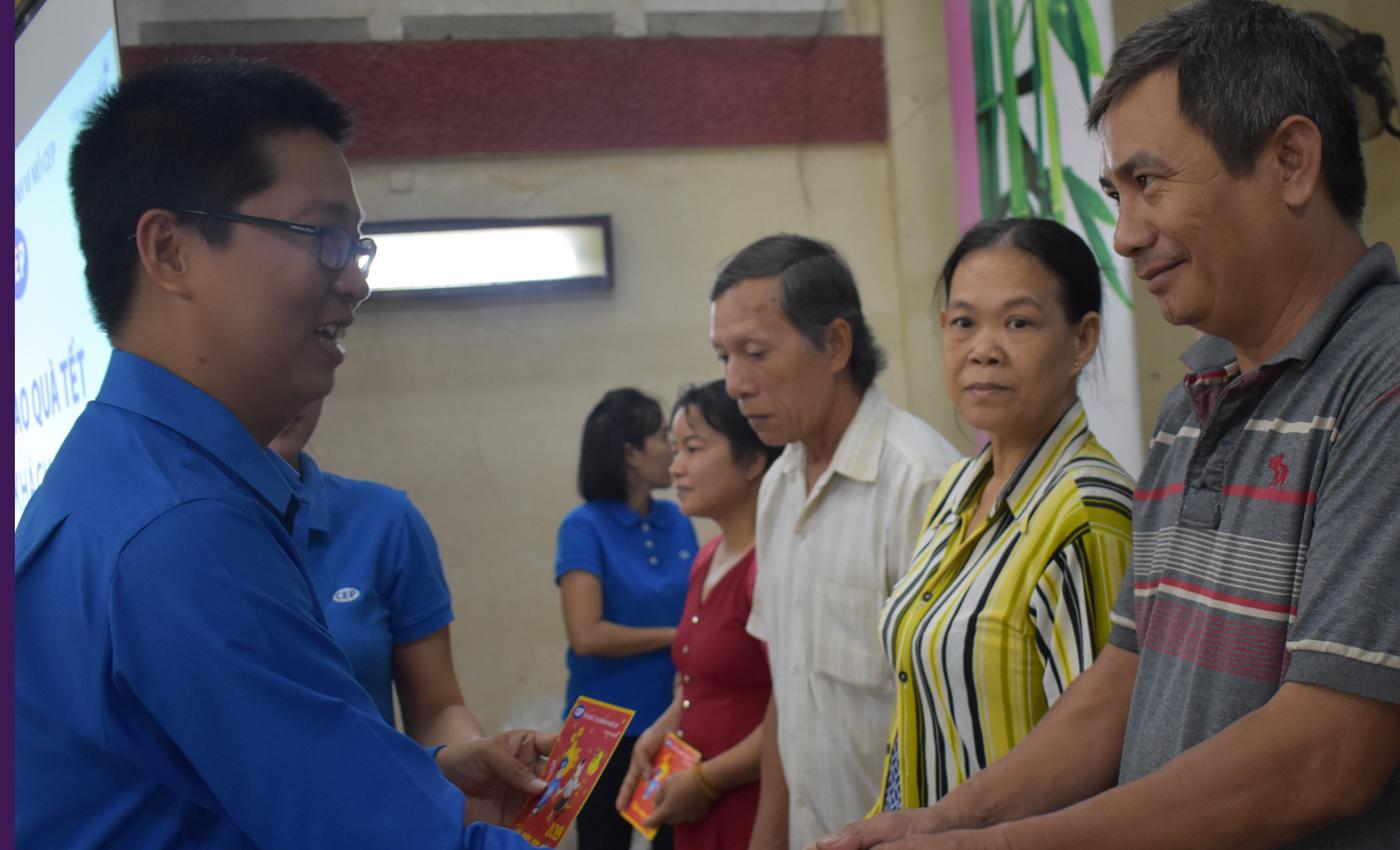 Ông Nguyễn Hải Triều, Giám đốc Chi nhánh CEP Mỹ Tho