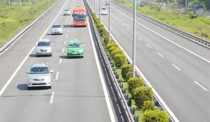 Đường cao tốc TP. Hồ Chí Minh - Trung Lương. Ảnh: Khắc Thuyên