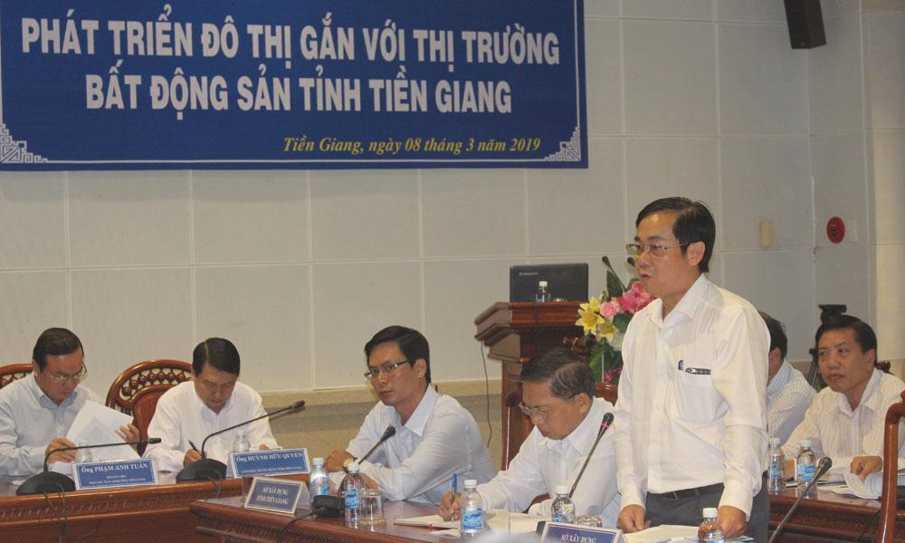 Đại diện Sở Xây dựng TP. Hồ Chí Minh chia sẻ kinh nghiệm.