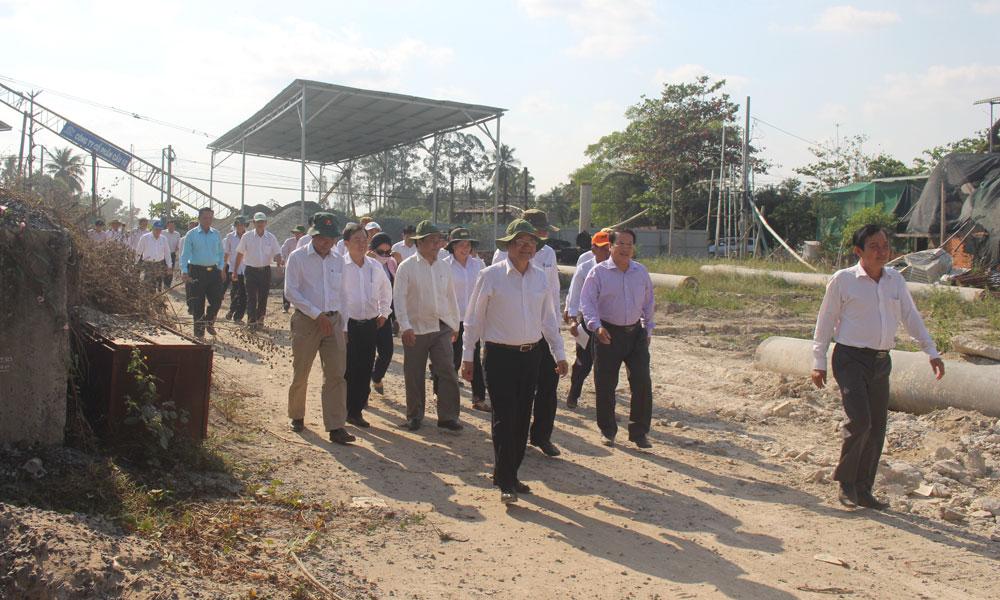 UBND tỉnh đang quyết liệt trong thực hiện GPMB Dự án.