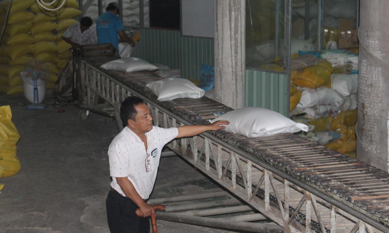 Công ty TNHH Vinh Hiển chú trọng xây dựng thương hiệu hạt gạo.