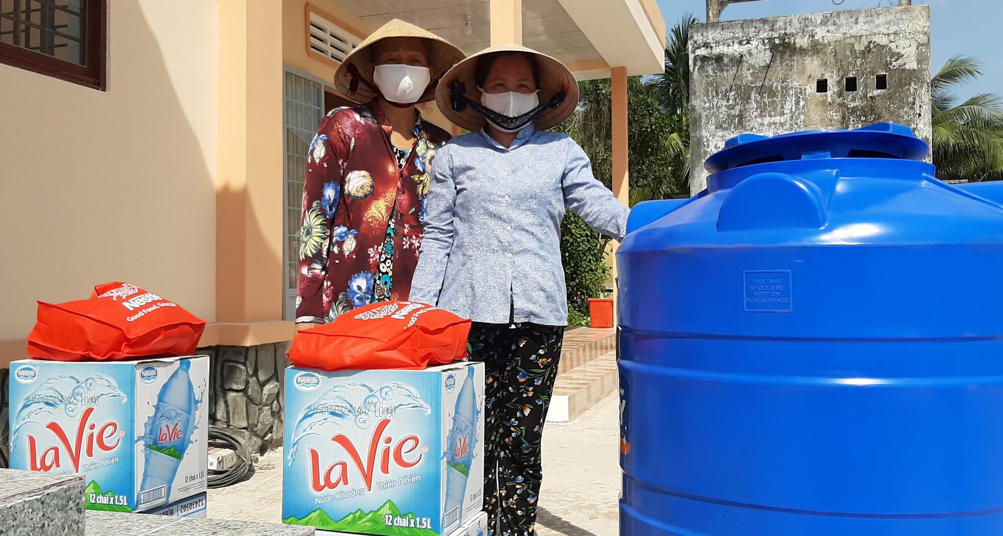 La Vie và Nestlé Việt Nam chung tay giảm thiệt hại từ hạn mặn - Ảnh 3.