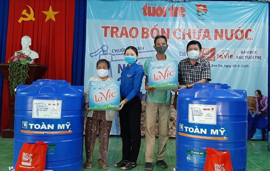 La Vie và Nestlé Việt Nam chung tay giảm thiệt hại từ hạn mặn - Ảnh 1.