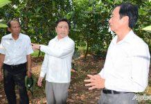 Lãnh đạo tỉnh Tiền Giang kiểm tra công tác chuẩn bị khoan giếng phục vụ sản xuất mùa khô 2021
