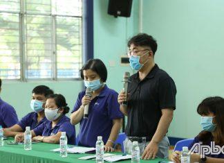 Ban Giám đốc công ty có cuộc đối thoại với lãnh đạo UBND tỉnh Tiền Giang nhằm tháo gỡ khó khăn