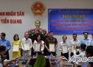 Đến năm 2025, Tiền Giang có 100 SP đạt 3 sao, 90 SP đạt 4 sao và 10 SP đạt 5 sao