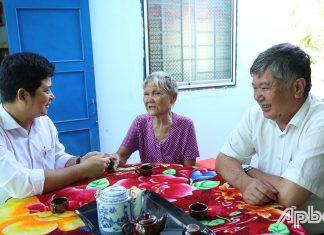 Chính quyền xã luôn  quan tâm, chăm sóc,  hỗ trợ  gia đình có hoàn cảnh khó khăn.