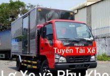 TIỀN GIANG : Cần gấp Nam Lơ xe tải & Nam LDPT Bốc xếp hàng