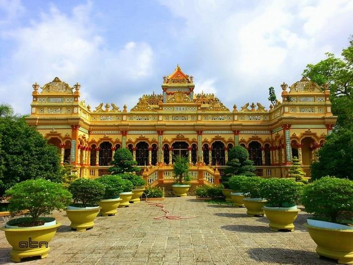 Về Tiền Giang nhớ ghé chùa Vĩnh Tràng