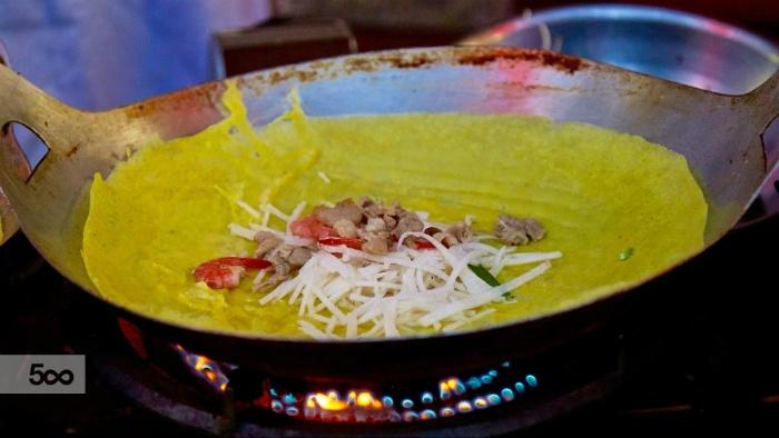 Cù lao Thới Sơn-Thưởng thức món bánh xèo đậm chất miền Tây Nam Bộ