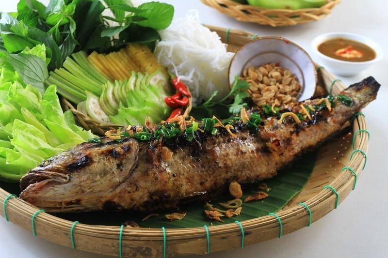 Cù lao Thới Sơn-Thơm lừng vị cá lóc nướng trui