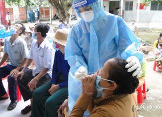 Phát hiện 88 ca dương tính mới, Tiền Giang vượt mức 1.100 ca dương tính với SARS-CoV-2 trong cộng đồng