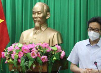 Phó Thủ tướng Vũ Đức Đam: Các tỉnh ĐBSCL cần quyết liệt dập dịch, sau đó chi viện TP.HCM
