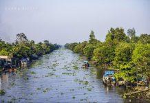 Cù lao Thới Sơn-nằm giữa bốn bề sông Tiền Giang