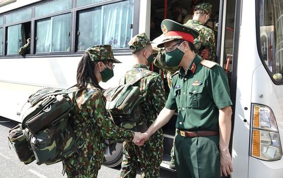 Cán bộ, học viên Học viện Quân y lên đường vào các tỉnh thành phía Nam hỗ trợ chống dịch Covid-19