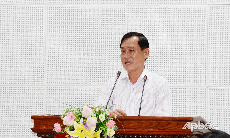 Chủ tịch UBND tỉnh Nguyễn Văn Vĩnh yêu cầu các địa phương phải quyết liệt thực hiện các giải pháp kiểm soát dịch bệnh