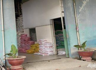 Công ty kinh doanh gạo nơi xảy ra vụ mất trộm.