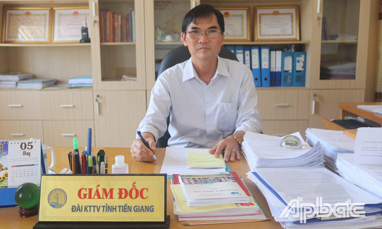Giám đốc Đài KT-TV tỉnh Tiền Giang Võ Văn Thông
