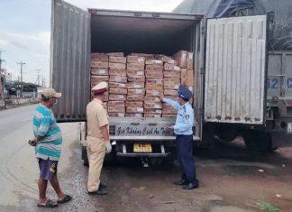 Tiền Giang: Chặn đứng 5 tấn cá nục Trung Quốc đang trên đường đi tiêu thụ