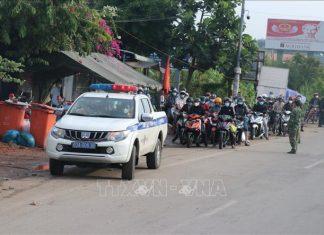 Tiền Giang tiếp nhận trên 3.500 người về từ TP Hồ Chí Minh